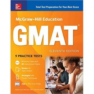 McGraw-Hill Education GMAT, Eleventh Edition