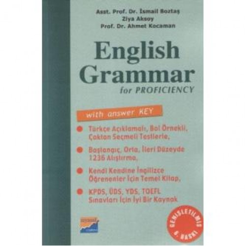 English Grammar for Proficiency With Answer Key