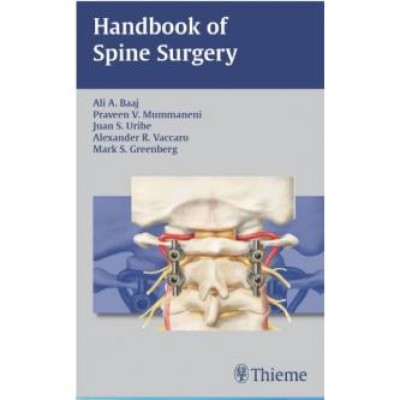 Handbook of Spine Surgery 1st Edition