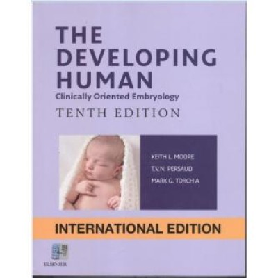 The Developing Human: Clinically Oriented Embryology, 10th Edition