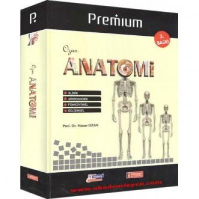 Premium Ozan Anatomi / Ciltli ( 3.BASKI )