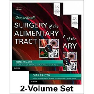 Shackelford's Surgery of the Alimentary Tract, 2 Volume Set